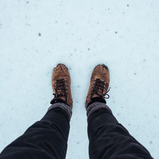 أحذية دافئة