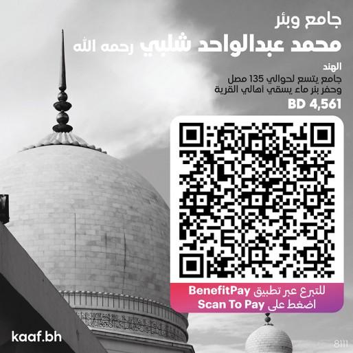جامع وبئر محمد عبدالواحد شلبي رحمه الله