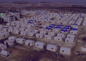 قرية البحرين للنازحين